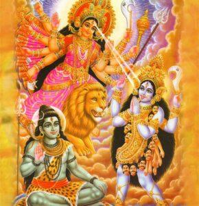 Shiva-Kali-Durga